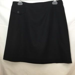 BANANA REPUBLIC WOOL MINI SKIRT WITH LINER SIZE 6